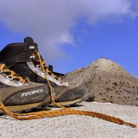 Schuhpflege – Wanderschuhe aus Leder