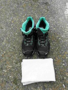 Schuhpflege Tuch