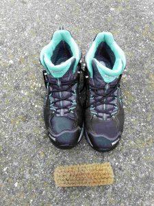 Schuhpflege feine Bürste