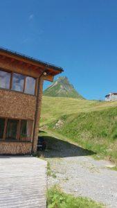 Mittagsspitze von der Uga-Alpe