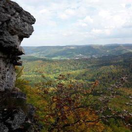Herbstwanderung mit Zollernburg Panorama