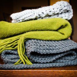 Der Schal – ein guter Freund bei Wind & Wetter
