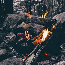Feuermachen - Lagerfeuer